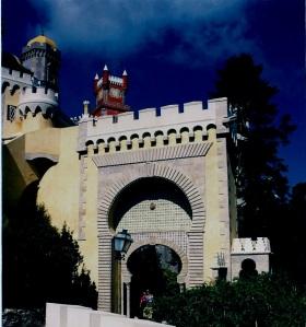 Sintra Entrada Palacio de Pena