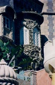 Sintra Palacio de Pena detalle