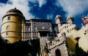 Sintra Palacio de Pena vista general